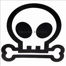 $enCountryForm.capitalKeyWord Australia - HotMeiNi Wholesale 20pcs lot New Stickers Kull Devil Head Bones Car Window Sticker For Truck Bumper Auto Door Kayak Vinyl Decal 8 Colors