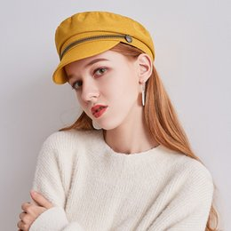 $enCountryForm.capitalKeyWord Australia - Newsboy Cap Beret Women Vintage Beret Painter Winter Hats For Women Men Octagonal Caps Female Bone Male New Classic Vintage