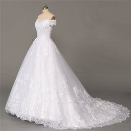 Plus Size Ball Gowns For Cheap Australia - Plus Size Wedding Dresses Ball Gown Cap Sleeves Tulle Lace Cheap Bridal Gown Bridal Dresses For Formal Wedding Occasion