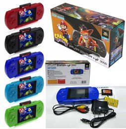android box video UK - TOP Quality 2.8 inch Game Player PVP 3000 (8 Bit) 2.5 Inch LCD Screen Handheld Video Game Player Consoles Mini Portable Game Box VS PXP3