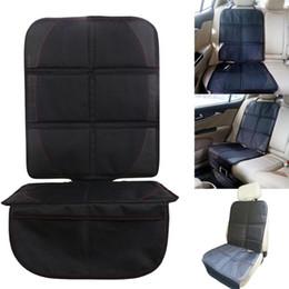 $enCountryForm.capitalKeyWord UK - Black Car seat protector mat Auto Baby car seat cover Infant Seat Saver Easy Clean Protector Safety Anti Slip Cushion for Car