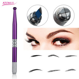 eyebrows microblading supplies Australia - Microblading Eyebrow Tattoo Supply Manual Pen Permanent Makeup Accessories Professional Beauty Tool Eye Brow Tattoo Supply