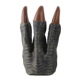 Wholesale costume dragons online – ideas 2Pcs Plastic Monster Dinosaur Dragon Devil Costume Hands Puppet Claws Gloves Toys Grey
