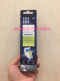 ElEctric hot brush online shopping - Hot sale Toothbrush Heads Pro Results Standard brush heads HX6064 diamond clean head toothbrush white
