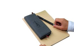 Chinese  Paris pencil case vintage canvas Pencil pen Case Pocket organizer storage Makeup cosmetic stationery bag with zipper manufacturers