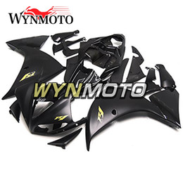 R1 Fairing Matte Black Australia - Matte Black with Gold R1 Motorcycle Fairings For Yamaha YZF 1000 R1 2009 2010 2011 ABS Plastic Injection motorbike Kits cowlings covers