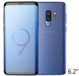 purple cellphone Australia - Refurbished original unlocked samsung galaxy S9 plus 6.2 inch 6GB RAM 64GB Android 8.0 Fingerprint IP68 Waterproof LTE cellphone