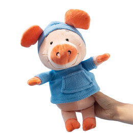Nici toys wholesale online shopping - 30cm Germany NICI pig plush toy WIBBLY styles clothes striped shirt navy shirt pig Wei than doll lovely girl boy gifts