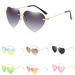 round shaped sun glasses Canada - 2020 New Metal Men Heart-Shaped Sunglasee Round Sunglass Steampunk Coating Glasses Vintage Retro Lentes Of Male Sun #49962