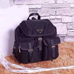 Man travelling bag back online shopping - 2019 Luxury school bag back pack waterproof shoulder bag handbag presbyopic package messenger bag parachute fabric mobile phone purse