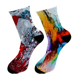 $enCountryForm.capitalKeyWord UK - Fashion New 3D Printed Street Art Painting Crew Socks Men Graffiti Oil Painting Long Socks Street Trend Men's Dress Tube