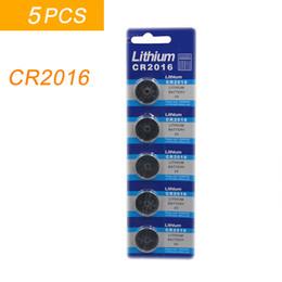$enCountryForm.capitalKeyWord NZ - 5PCS lot 1 card CR2016 3V Lithium li-liom Battery DL2016 ECR2016 LM2016 BR2016 CR 2016 Button cell Coin Batteries watch toys