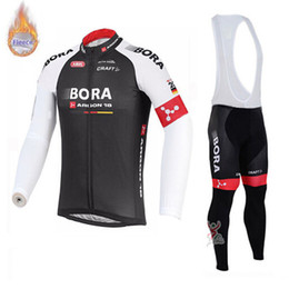 $enCountryForm.capitalKeyWord Australia - 2019 BORA pro team Cycling jersey Set Winter Thermal Fleece 9D gel pad (bib) pants Tour Cycling clothing long sleeves Ropa Ciclismo
