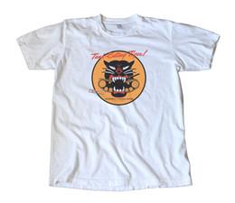 $enCountryForm.capitalKeyWord Australia - Vintage Oldsmobile WWII Tank Eating Tiger T-Shirt - Military, Army, Rockabilly Cheap wholesale tees,100% Cotton For ,T shirt printing