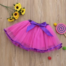 $enCountryForm.capitalKeyWord Australia - Summer Baby Girl Skirt Kids Baby Girls Bowknot Solid Tutu Skirts Party Dance Skirt Clothes Baby Girl Clothes jupe fille M22#F