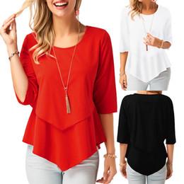 4d5043f5369f Womens yelloW clothing online shopping - Womens Clothes Tshirt Sexy O Neck Long  Sleeve Women Tshirt