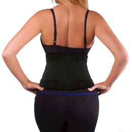xtreme hot belt UK - 2016 WAIST TRAINER CORSETS XTREME THERMO POWER HOT GYM SHAPER GIRDLE BELT UNDERBUST CONTROL CORSET #555995