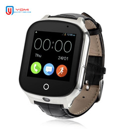 wcdma 3g smart watch Australia - Smart Watch 3G WCDMA Smartwatch with Camera GPS WIFI Tracker Remote Monitor SOS Call Bracelet Watch for Parents and Children