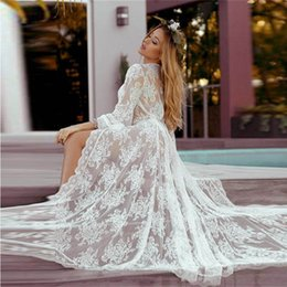 Pictures Cotton Gowns Australia - Beach Lace Prom Party Dresses with Sleeveless Beaded Top A Line Sexy Back Sweep Train Evening Dresses Formal Gowns 2019