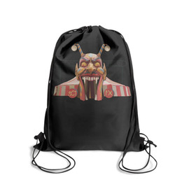 $enCountryForm.capitalKeyWord UK - Drawstring Sports Backpack American Horror Story Freak Showfashion adjustable sack pouch Travel Fabric Backpack