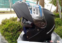$enCountryForm.capitalKeyWord Australia - Dot Approved Motorcycle Helmet Double Lens Moto Helmet Flip Up Open Full Face Motorbike Helmet Motorcycle Racing Off Road Helm