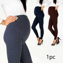 ball pregnant Australia - Adjustable Buckle Breathable Maternity Trousers High Waist Spring Comfortable Leggings Casual Slim Pencil Pants Pregnant Women