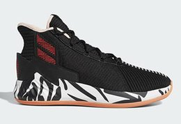 $enCountryForm.capitalKeyWord Australia - 2019 New Perfect D Rose 9 Zebra Shoes for Sale Best Derrick Rose Baby Kids Basketball Shoes Store