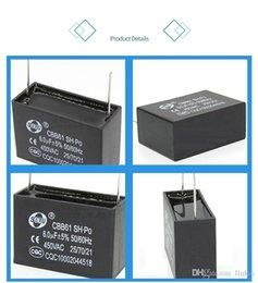 CBB61 pino condensador 1uf 1.2uf 1.5uf 2uf 2.5uf 3UF 3.5uf 4uf 5uf 6uf 8uf 10uF 450VAC condicionador de ar do ventilador do condensador de partida em Promoção
