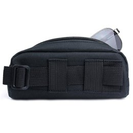 Discount eyeglasses cases for men - Vapanda Portable Tactical camelback Molle Sunglasses Case Carry Eyeglasses Bag Outdoor Sport tactical pouch for Glasses