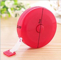 Tailoring inch Tape online shopping - Multicolor Inch New Retractable Ruler Tape Measure m For Measures Sewing Cloth Dieting Tailor Promotion Via Dhl
