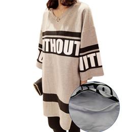 $enCountryForm.capitalKeyWord Australia - New Arrival Maternity Letter T-shirt Plus Size Half Sleeve Loose O-neck Large Pregnant Tees Shirts 8534 Y190525
