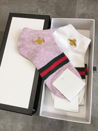 $enCountryForm.capitalKeyWord NZ - women casual socks New short socks sports casual fashion cotton women 4 color socks a box of four pairs