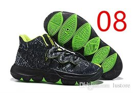1f796967a2b 2019 hot sale Kyrie 5 V Black Magic Multi-Color Confetti New Irving 5 Sport  Sneakers Charms Irving Basketball Shoes Size us7-12 lusky