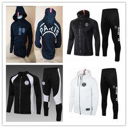 b051466e7 Green football jackets online shopping - 2019 PSG tracksuit soccer jacket  psg hoodie MBAPPE CAVANI DANI