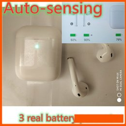 $enCountryForm.capitalKeyWord Australia - Airpods Headphones with Touch Function Automatic Light Sensing for 1:1 Wireless Bluetooth Earphone Earbuds In-ear Earphone Real Battery
