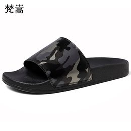 $enCountryForm.capitalKeyWord Australia - Slippers Men Summer Outdoor Korean Edition Fashion Leisure Leather Sandals Personality Fashion Youth Slip-proof Softsole Slipper