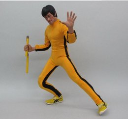 $enCountryForm.capitalKeyWord Australia - Cheap Action & Toy Figures ZY Toys Game Of Death Bruce Lee Clothing Set 1 6 Fit for 12inch Action Figure