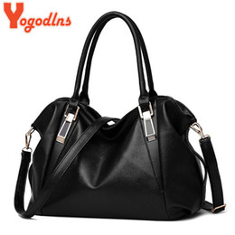 $enCountryForm.capitalKeyWord Australia - Yogodlns Designer Women Handbag Female PU Leather Bags Handbags Ladies Portable Shoulder Bag Office Ladies Hobos Bag Totes Y190606