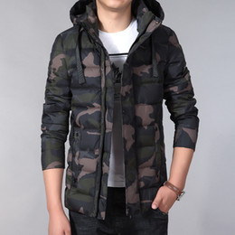 pad jacket Canada - Fashion-2018 Winter Jacket Men Fashion Cotton Padded Jacket Winter Coat Mens Camouflage Jackets Plus Size L-7XL Jaket Homme