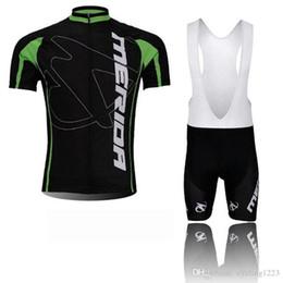 $enCountryForm.capitalKeyWord Australia - Merida Team Cycling Short Sleeves Jersey Bib Shorts Sets Breathable Sport Wear Bicycle Clothing Lycra Summer Mtb 000587