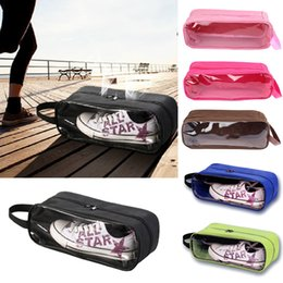 Portable Folding Shoes Australia - Portable Waterproof Football Shoe Storage Bag Travel Breathable Organizer Sports Gym Carry Storage Case Box Xmas Free