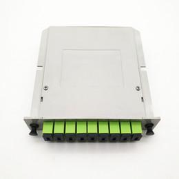 $enCountryForm.capitalKeyWord Australia - 1*8 LGX Module PLC Splitter with SC APC Fiber adapters Single Mode FTTH LGX Box PLC Optical Splitter