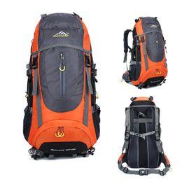Bag Outdoor Mountaineering Australia - Outdoor Mountaineering Backpack 65L Camping Climbing Backpack Waterproof Hunting Hiking Bags Trekking Travel Bag