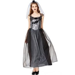 $enCountryForm.capitalKeyWord UK - Halloween Horror Bloody Bride Dress Party Goth Costume Ghost Bride Cosplay Costume Masquerade Vampire Zombie Carnival for Women