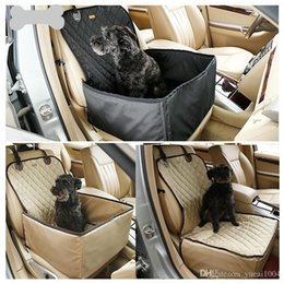 Großhandel Wasserdichtes Nylon Dog Haustier-Auto-Beutel-Halter-Carriers Lagerung Taschen Mats Baskets bequeme Haustier-Sitze Haustier-Auto-Sitzerhöhung Cover Outdoor