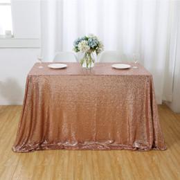 Champagne Tablecloth Wedding Australia - 10pcs 50''x50'' Square Champagne Sequin Tablecloth Sequin Overlays, Runners, Gatsby Wedding, Glam Wedding Decor, Vintage Weddings