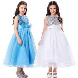 $enCountryForm.capitalKeyWord Australia - Sleeveless Both Shoulders Sequins Flower Girl Dresses,Wedding Birthday Party Bridesmaid,Children Dresses,Princess Pageant Prom Gown TF58