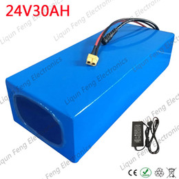 electric bike battery charger 24v Australia - 24V 30AH electric bike battery 24V 30ah lithium ion Battery pack 24V 500W electric bicycle battery with 40A BMS+29.4V 5A Charger