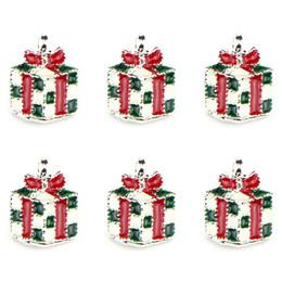 Christmas Pandora Bracelet Australia - NEW 10Pcs lot Christmas Tree Santa Wreath Pendant Charms Fit Pandora Bracelets Women Diy Jewelry Drop Ornaments Wholesale