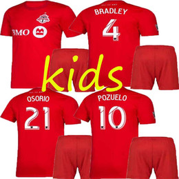 $enCountryForm.capitalKeyWord Canada - best kids kit 2019 2020 Toronto FC Soccer Jerseys BRADLEY GIOVINCO ALTIDORE OSORIO 19 20 Toronto kids Home Red Custom Football Shirt Uniform